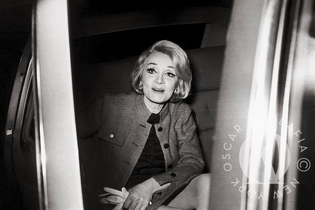 Marlene Dietrich Oscar Abolafia
