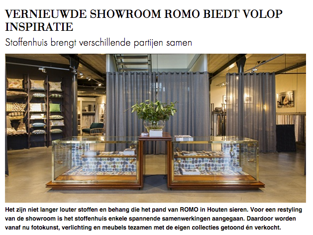 ROMO Fabrics | new showroom